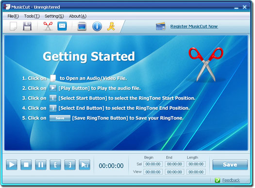 MusicCut Screenshot